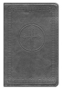 NIV Pocket Bible Charcoal Duotone