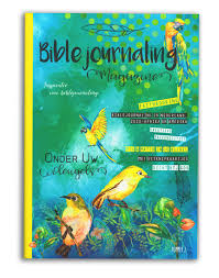 Bible journaling magazine