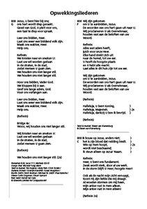 Opwekking 43 tekstaanvulling A5 820-831